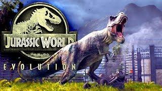 Jurassic World Evolution #19 | Ein Gehege für Fleischfresser | Gameplay German Deutsch thumbnail