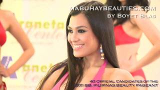 Video BB. PILIPINAS 2011 - Here are the 40 OFFICIAL CANDIDATES! download MP3, 3GP, MP4, WEBM, AVI, FLV Agustus 2018
