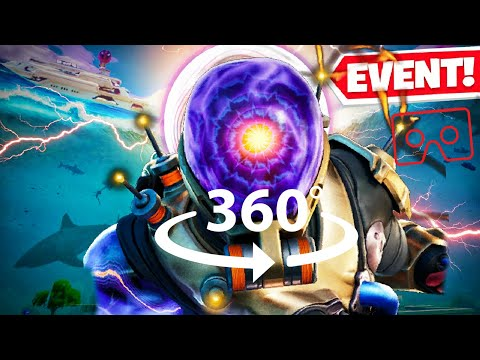 360° THE DEVICE FLOODING EVENT | FORTNITE END OF SEASON 2! VR