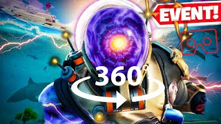 360° THE DEVICE FLOODING EVENT   FORTNITE END OF SEASON 2! VR