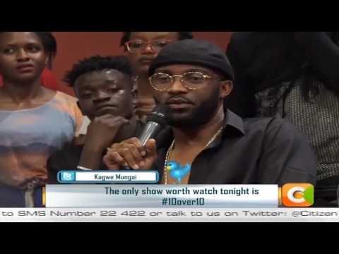 Fally Ipupa interview sur kenya citizen tv + show