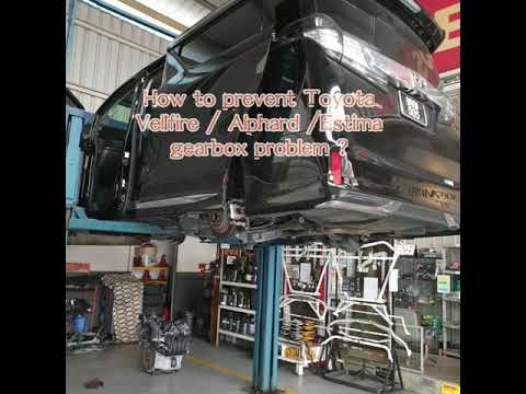 Toyota Alphard Vellfire auto Transmission problem ! Where can I replace  CVTF / ATF ?