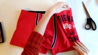 Красные качественные мужские трусы боксеры ( шортами )