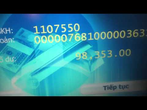 Thẻ ATM BIDV sử dụng tại ATM Vietinbank - rút tiền - chuyển khoản - xem số dư