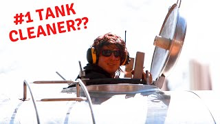 Willy Cleans the Tanks