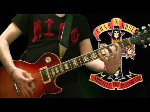 Guns N' Roses - My Michelle (full guitar cover)