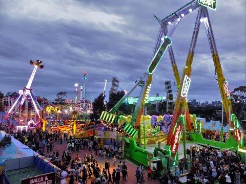 Royal Melbourne Show 2016 Rides