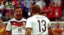 Alle Tore der Deutschen Nationalelf / Wm 2014  Weltmeister !!!