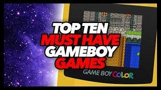 Top Ten Must Have Game Boy Color Games