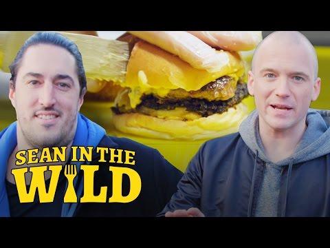 Sean Evans Hunts for London's Best Burger   Sean in the Wild