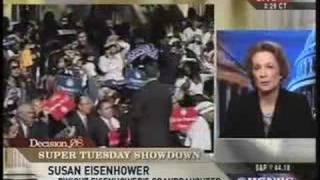 Susan Eisenhower Endorses Barack Obama on MSNBC