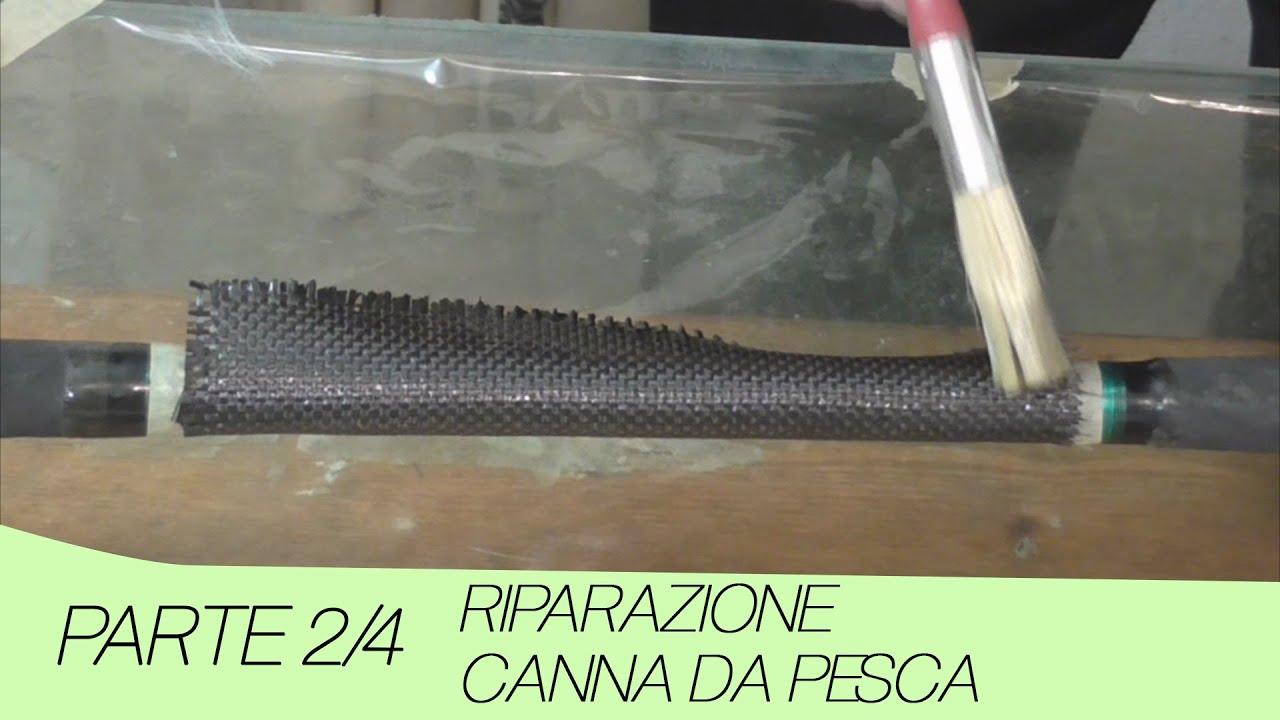 riparazione canna da pesca con carbonio parte 2 4