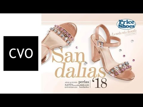 Catálogo Price Shoes SANDALIAS 2018 COMPLETO con PRECIOS