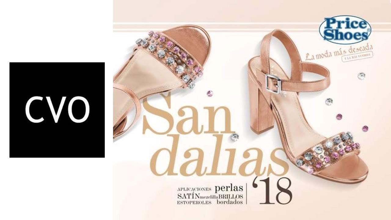 4da45aaeb6 Catálogo Price Shoes SANDALIAS 2018 (COMPLETO) con PRECIOS - YouTube
