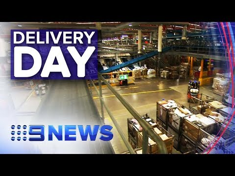 Australia Post Prepares For Busiest Day Of The Year | Nine News Australia