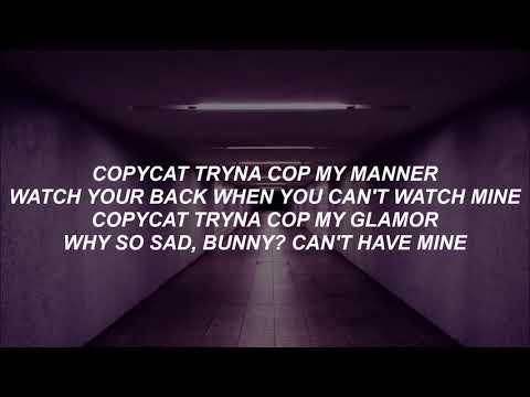 Billie Eilish - COPYCAT - Lyrics