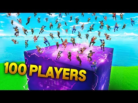 CUBE Vs 100 PLAYERS!!! | Fortnite Funny Plays and Best Fail Moments Ep.214 (Fortnite Royale)