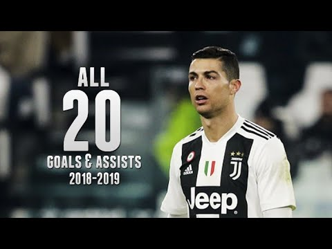Download Cristiano Ronaldo • All 20 Goals and Assists for Juventus 2018/19 • His First 20 Games for Juventus