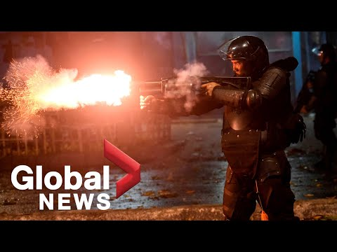 Indonesia post-election riots: Police clash with protesters in night of chaos