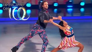 Ryan Holds His Girl on the Ice | Dancing on Ice 2019