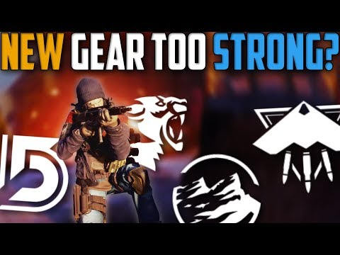 The Division | Is The New Classified Gear Too Strong? | Patch 1.8 PTS