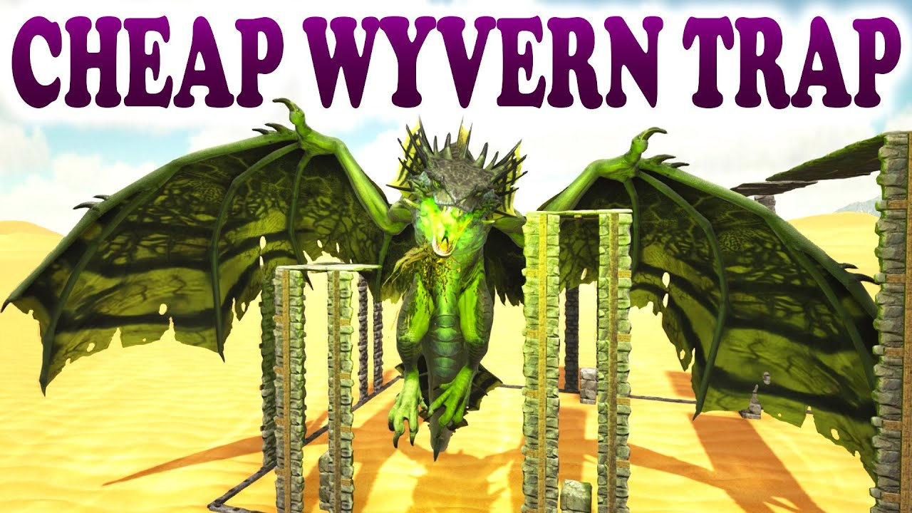 Ark cheap easy wyvern milk farm trap how to farm wyverns ark cheap easy wyvern milk farm trap how to farm wyverns scorched earth youtube malvernweather Gallery