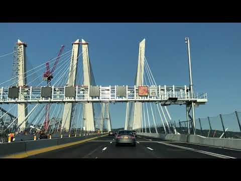 First drive across the new Tappan Zee Bridge- Aug 2017