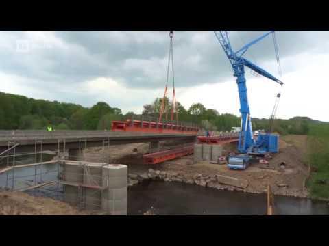 Brückenschlag über die Zschopau in Töpeln
