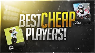 Budget Beasts! Best CHEAP Players in Madden Mobile 17!