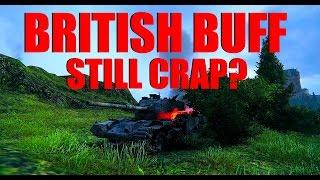 WOT - British Medium Buff - Still Crap? | World of Tanks