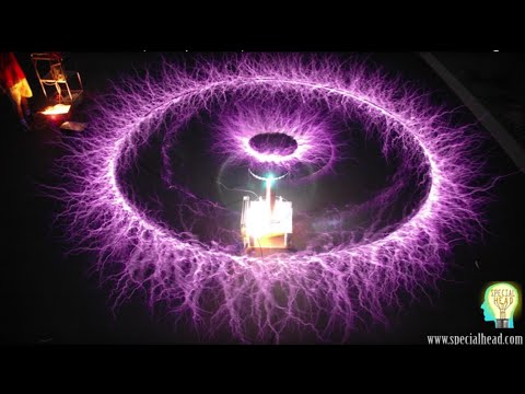 How To Levitate - Build a Tesla Coil  (AntI Gravity Performance)