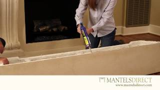Stone Mantel Surround Kit | Installation | Mantelsdirect.com