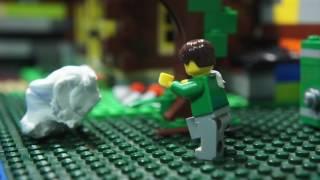 레고 스톱모션 - 아이클레이의 습격 (Lego stop motion - Attack of Clay)