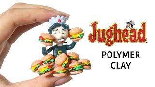DIY CLAY JUGHEAD?! ARCHIE'S COMICS/RIVERDALE!!