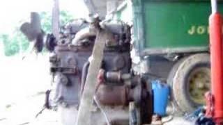 Démarrage moteur Mercedes OM636