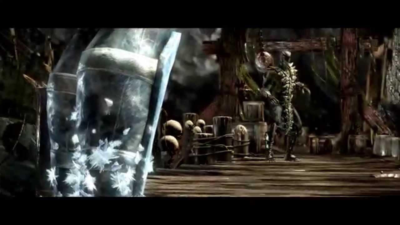 Mortal Kombat X - Sub-Zero vs Reptile INTRO - YouTube