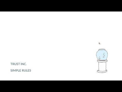 Trust Inc. - Simple Rules (Official Lyrics Video)