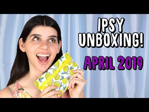 SUPERFOOD PRODUCTS?! | Ipsy Unboxing April 2019