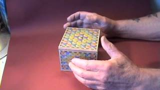 A normal looking puzzle box. But nothing will push, pull or turn. So how does it open?