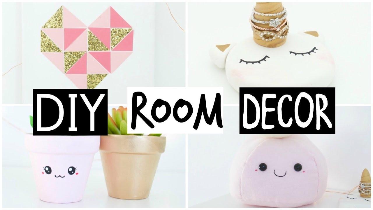 DIY Room Decor 2017 - EASY & INEXPENSIVE Ideas! - YouTube