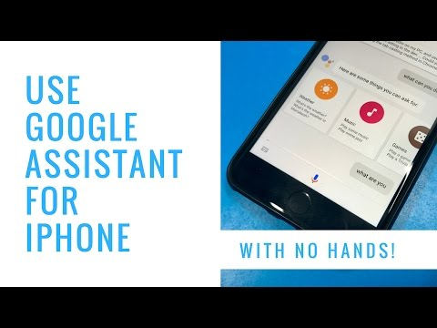 How to Use Google Assistant Without Touching Your iPhone