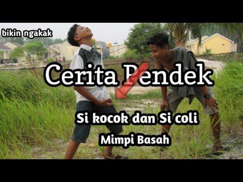 CERITA PENDEK EPS.  1 # SI KOCOK DAN SI COLI ( MIMPI BASAH)