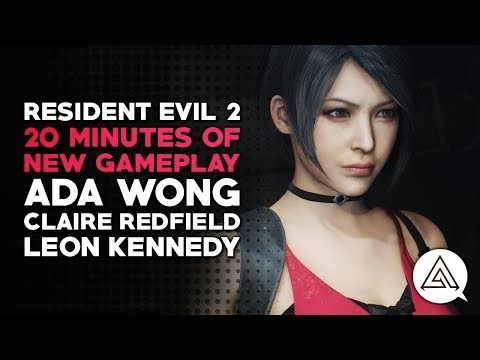 Resident Evil 2 | 20 Minutes of New Gameplay
