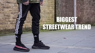 NEW ADIDAS JOGGERS TREND - REVIEW / LOOKBOOK