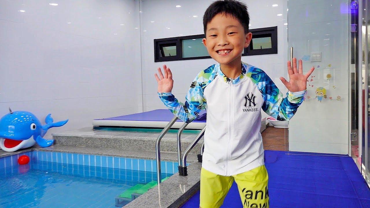 Hide and Seek Pool Villa House Indoor Playground