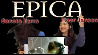 Two Girls React to Epica - Sancta Terra (feat Floor Jansen) Live Retrospect show