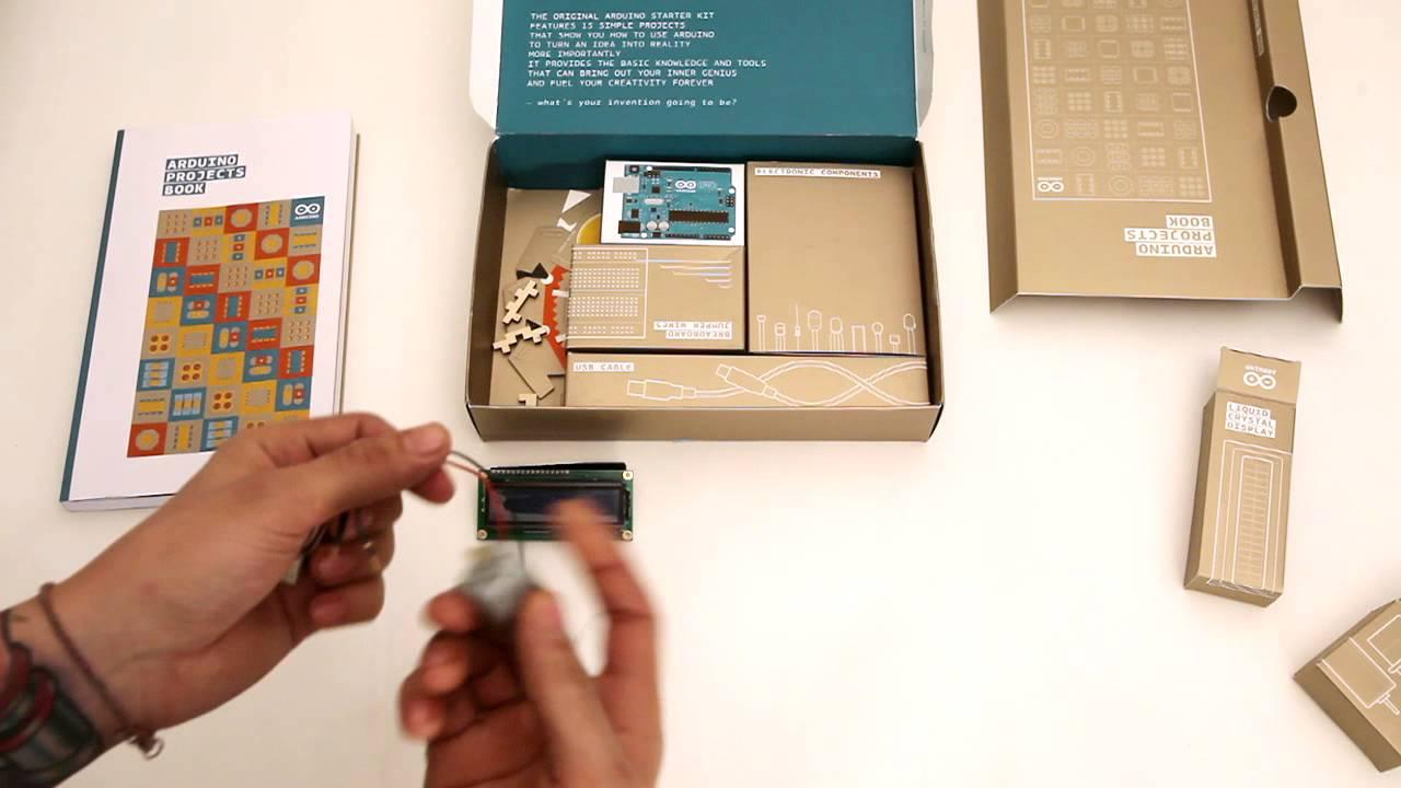 Arduino starter kit unboxing doovi