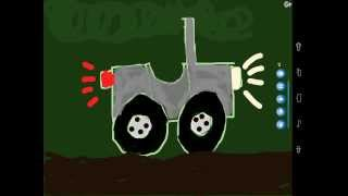 Aprende a dibujar un vehículo todo terreno - Learn to draw an off-road vehicle