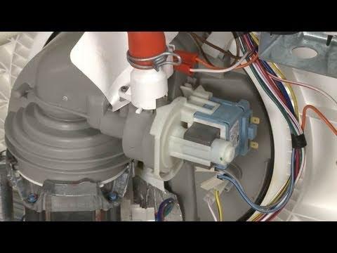 universal motor wiring diagram crochet border dishwasher not draining/noisy? replace drain pump #661658 - youtube