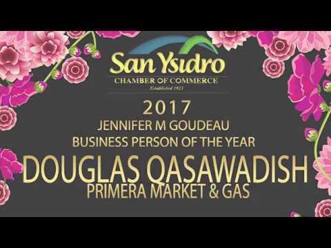 San Ysidro Chamber Business Person of the Year 2017 Douglas Qasawadish